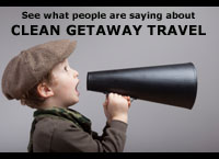Clean Getaway Travel Adventurer's Reviews